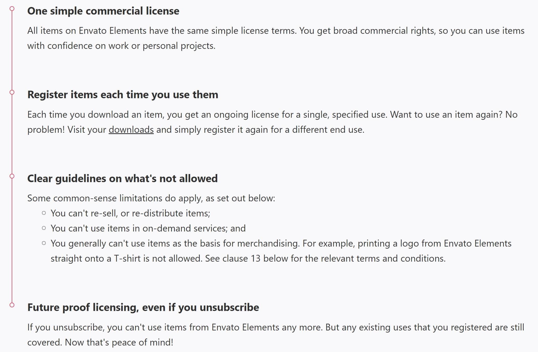 Envato Elements Licensing