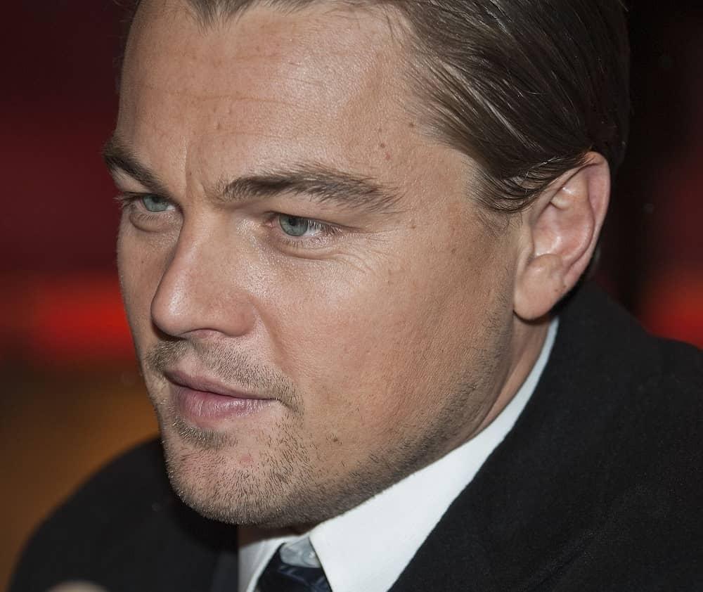 Leonardo DiCaprio Close up