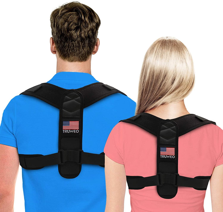 Truweo Adjustable Posture Corrector for Men and Women
