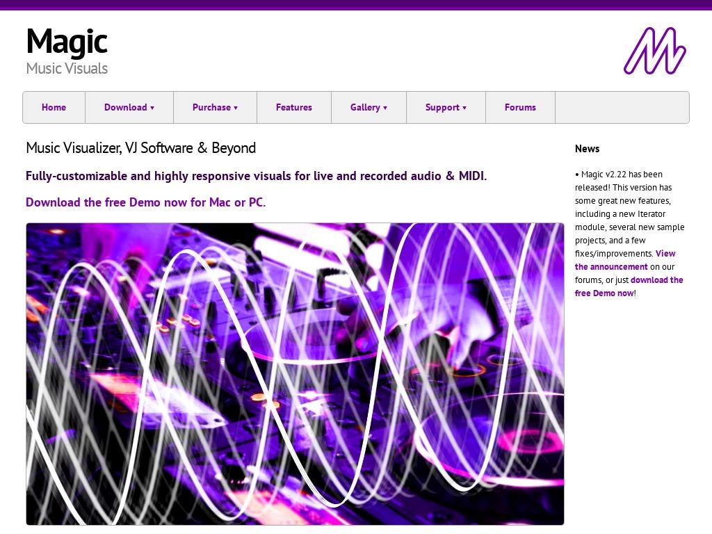 Magic Music Visuals