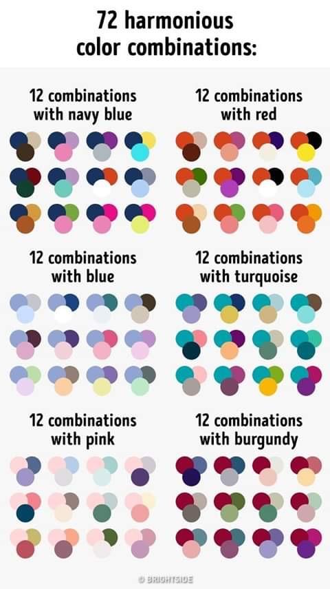 Cute match of colors.