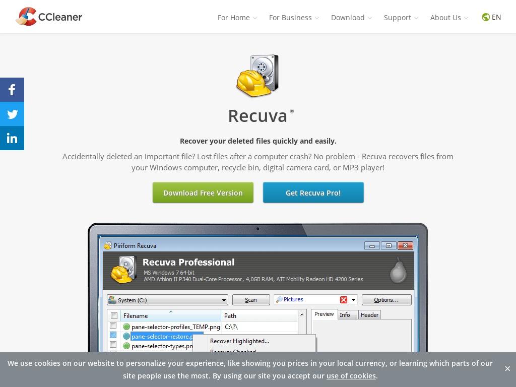 Recuva from ccleaner