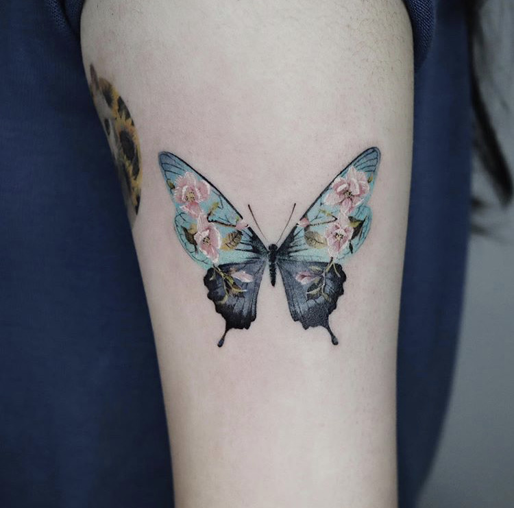 50 Stunning Butterfly Tattoos That Will Make You Feel Free And Sexy Inspirationfeed Butterfly tattoos hold a unique fascination with the human race and. 50 stunning butterfly tattoos that will