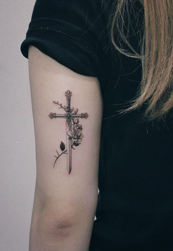 50 Beautiful Cross Tattoos To Showcase Your Faith Inspirationfeed Then you're in the ideal location. 50 beautiful cross tattoos to showcase
