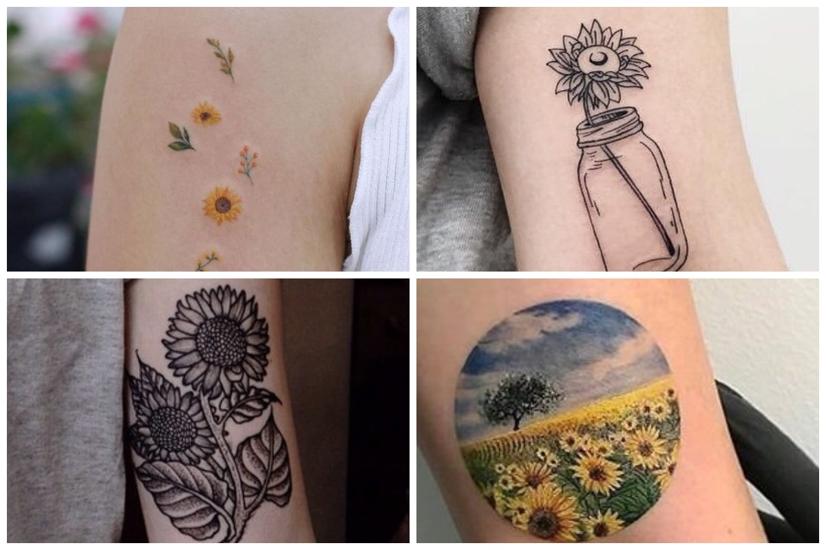 35 Beautiful Sunflower Tattoos For The Bright And Optimistic Inspirationfeed