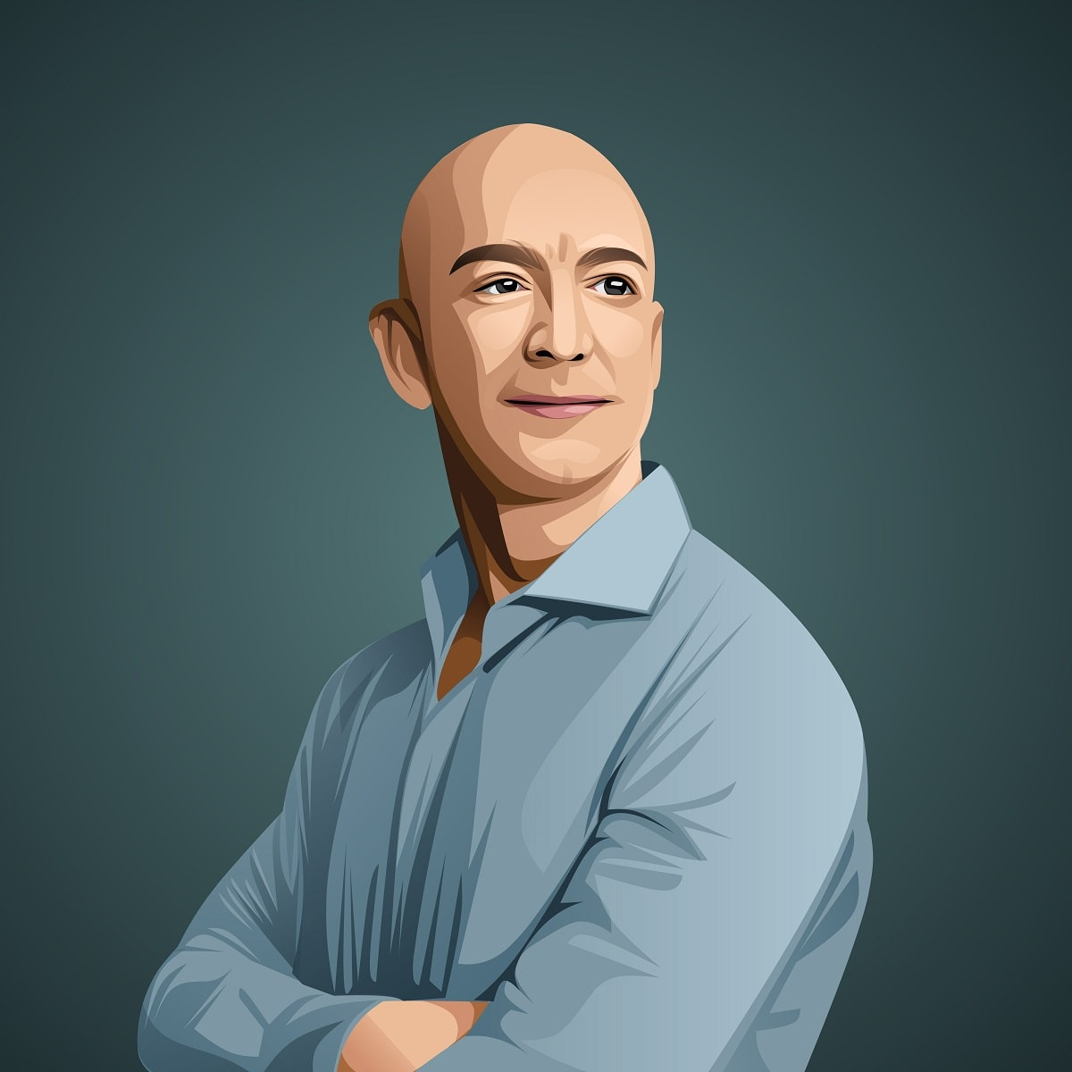 Jeff Bezos © Inspirationfeed. All rights reserved.