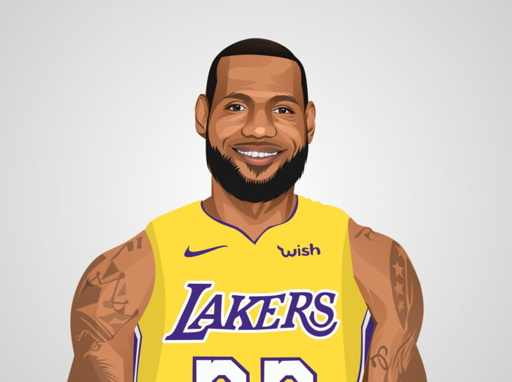 LeBron James Copyright by Inspirationfeed.