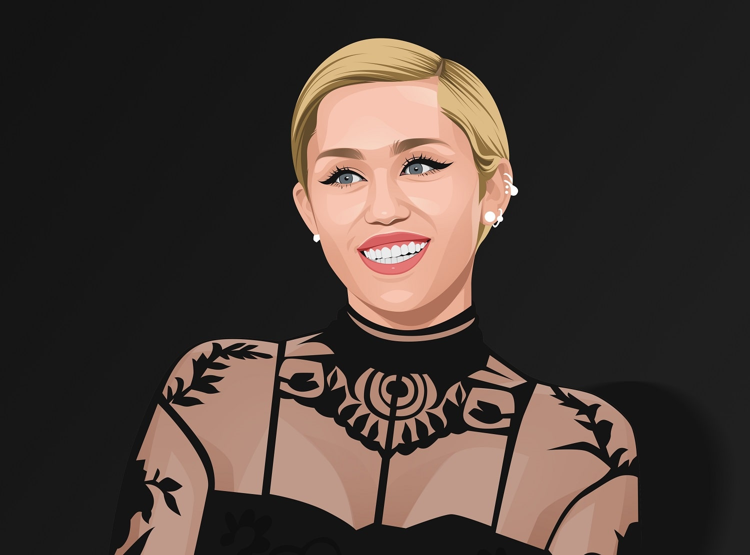 Miley Cyrus Copyright by Inspirationfeed.