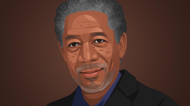 Morgan Freeman Copyright by Inspirationfeed.