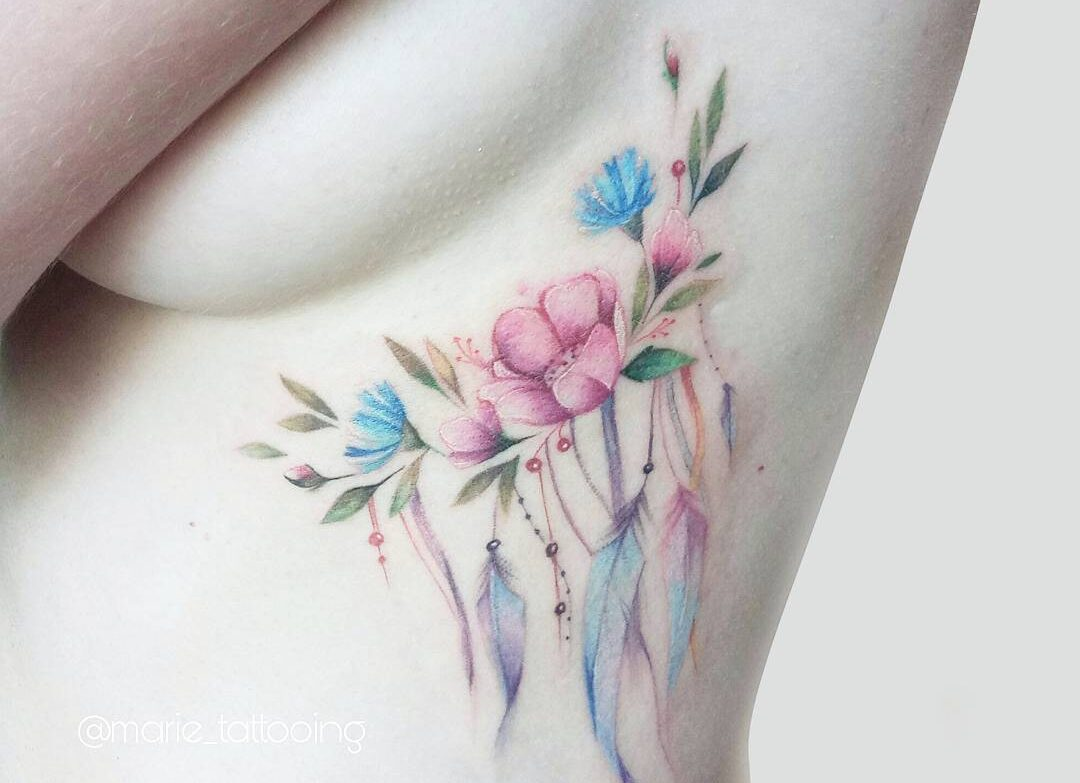 Beautiful Watercolor Tattoo Ideas