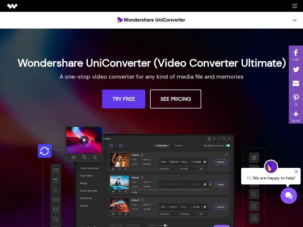 WonderShare UniConverter Version 11 vs. Version 12
