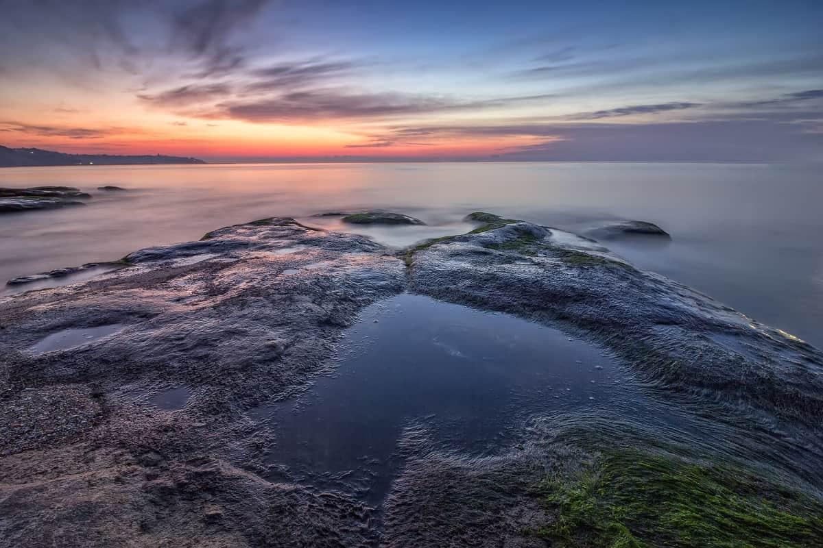 Dusk on a Sea Coast