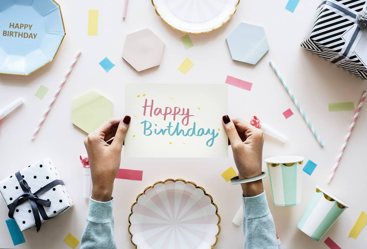 Writing The Perfect Happy Birthday Card