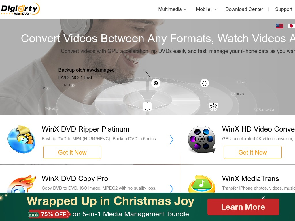 Clear Your DVD Shelves with Winx DVD Ripper Platinum