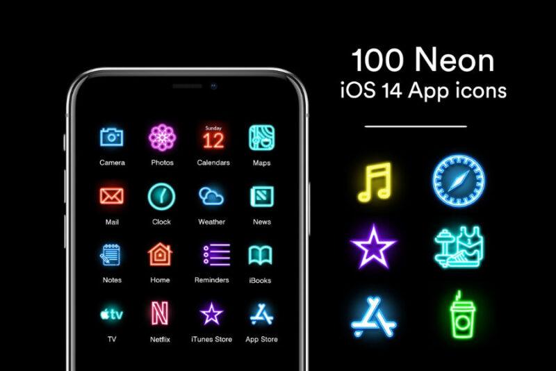 iOS 14 icon sets