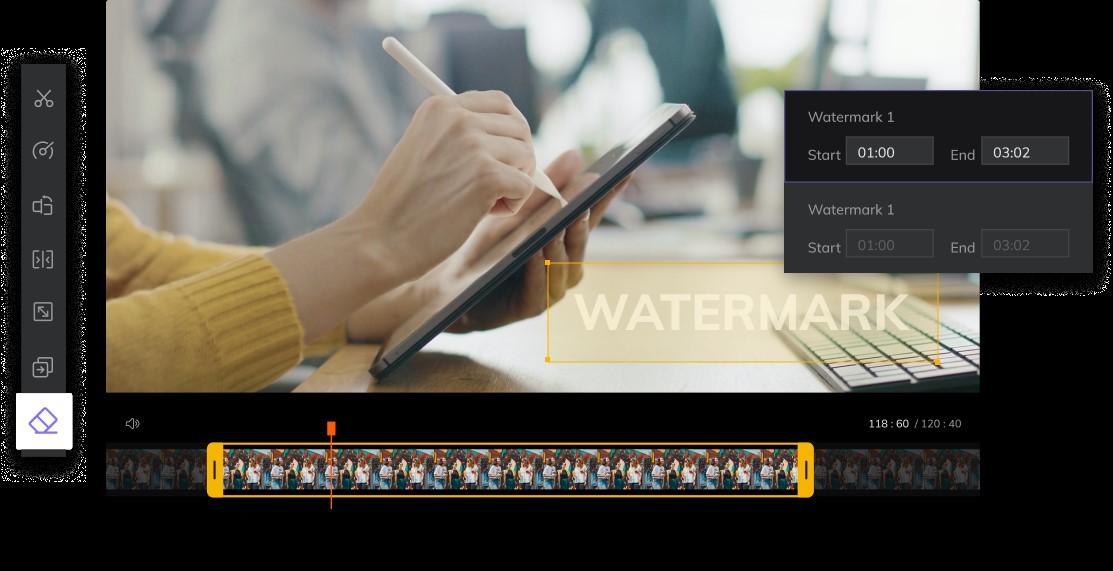 HitPaw Online watermark removal tool