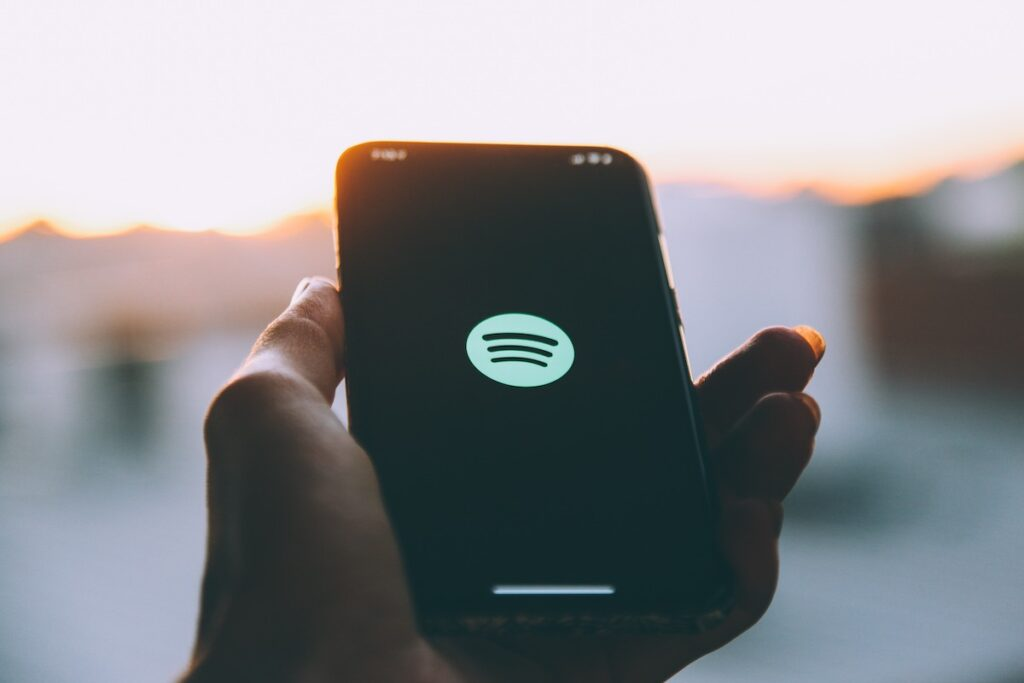 Spotify App on Iphone