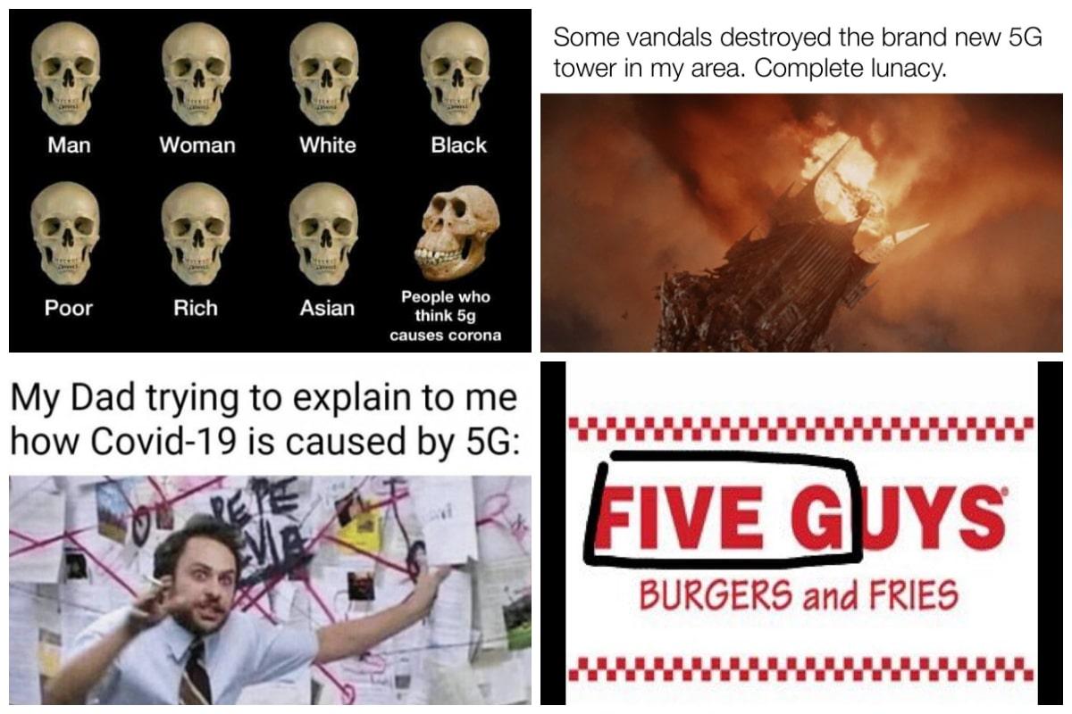 5G Memes Collage