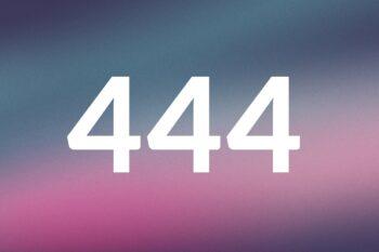 444 Angelic Number